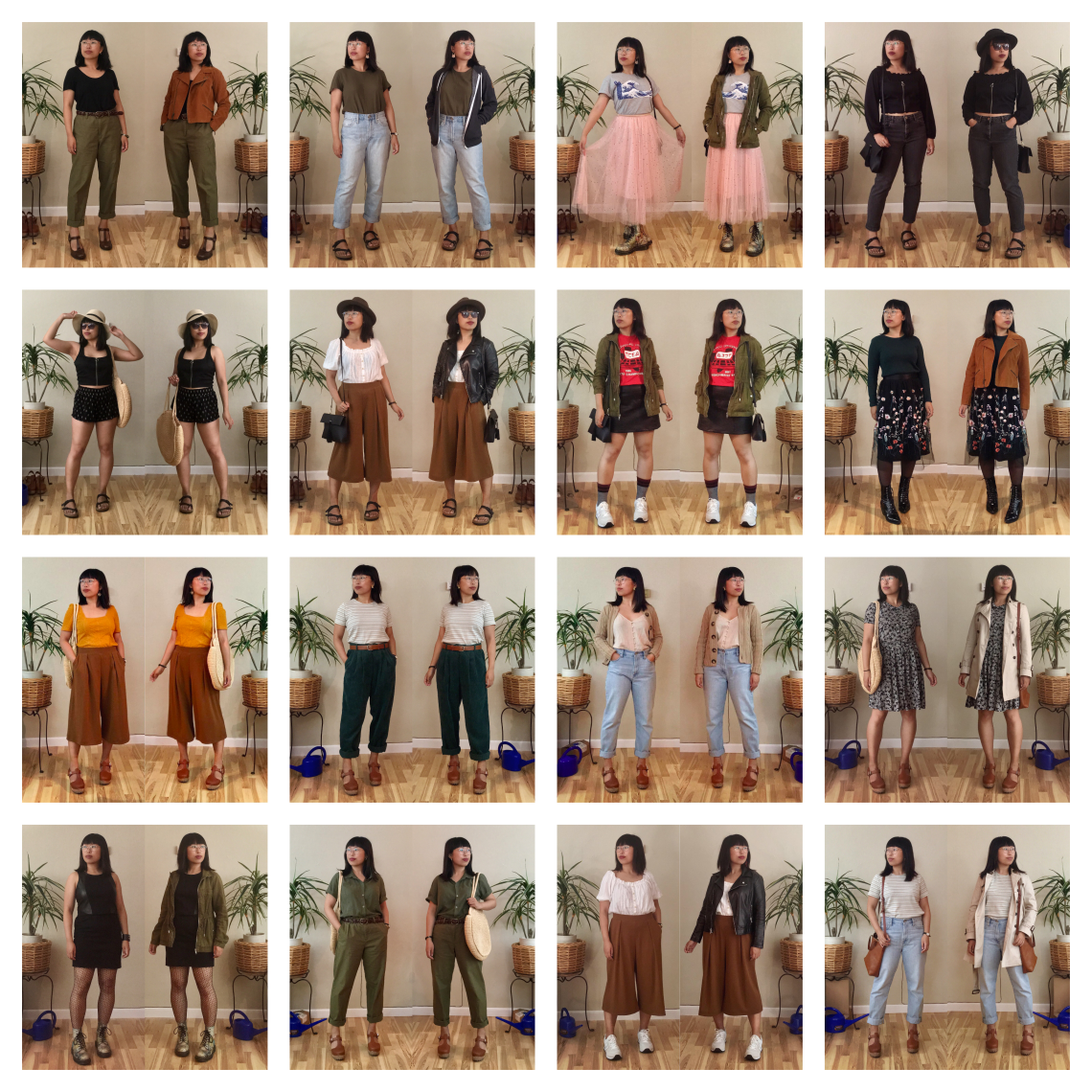 July 1-16 2019 Outfits