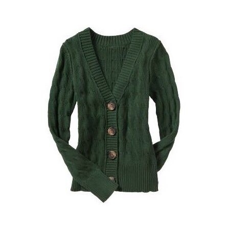 green cable-knit cardigan.jpeg