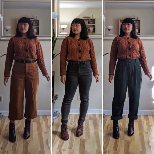 cropped cardigan comparison 1