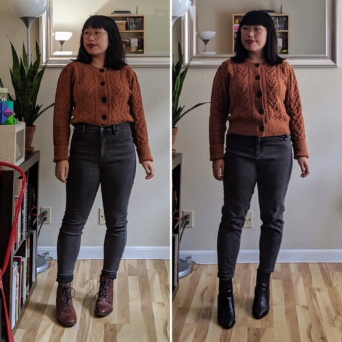 cropped cardigan comparison 4