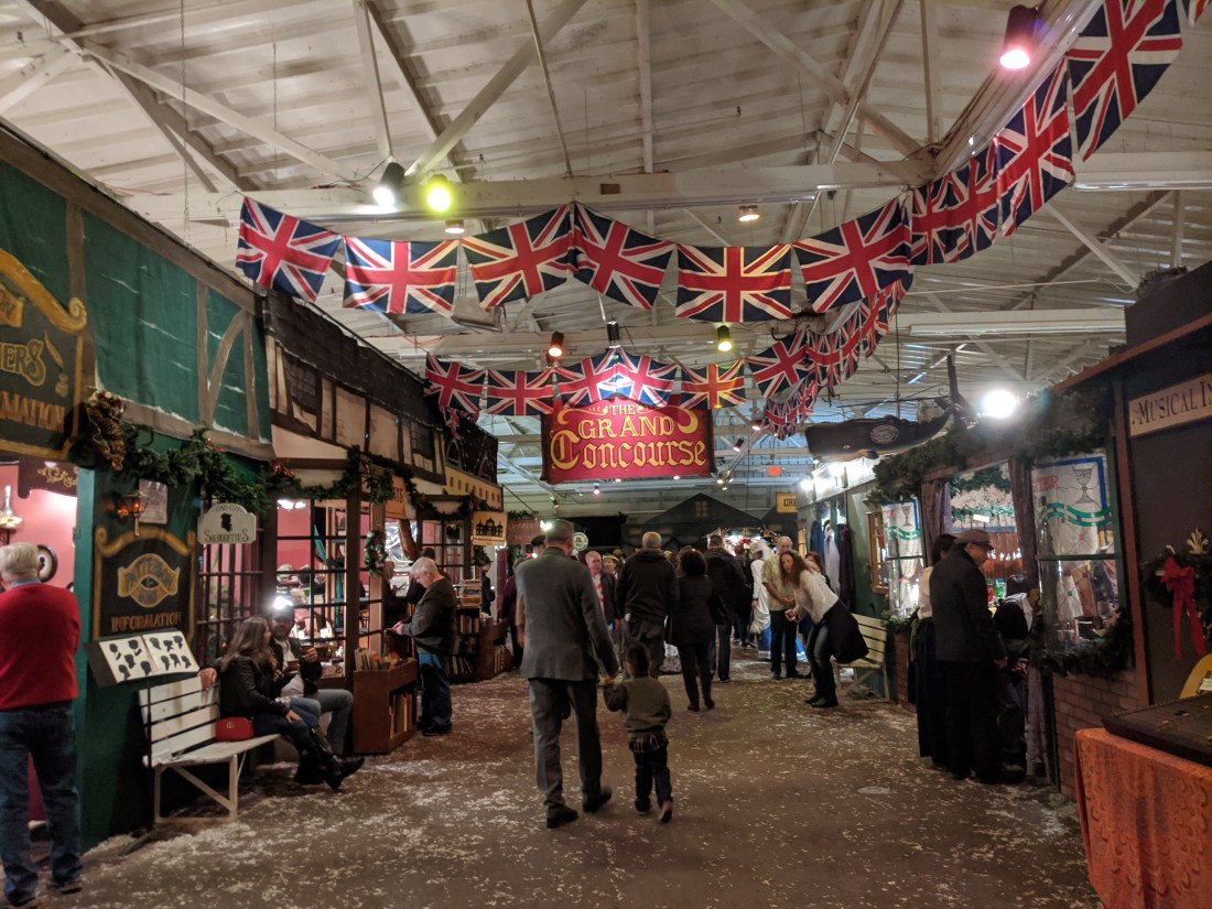 dickens fair grand concourse