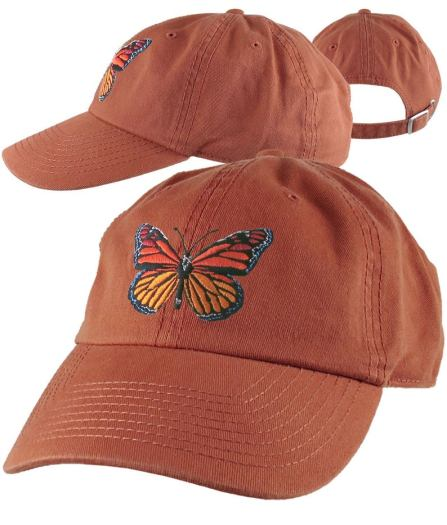 monarch baseball cap