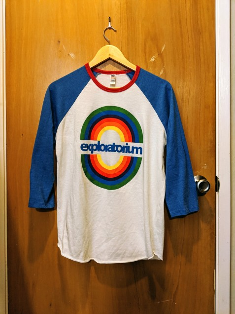 exploratorium retro t-shirt