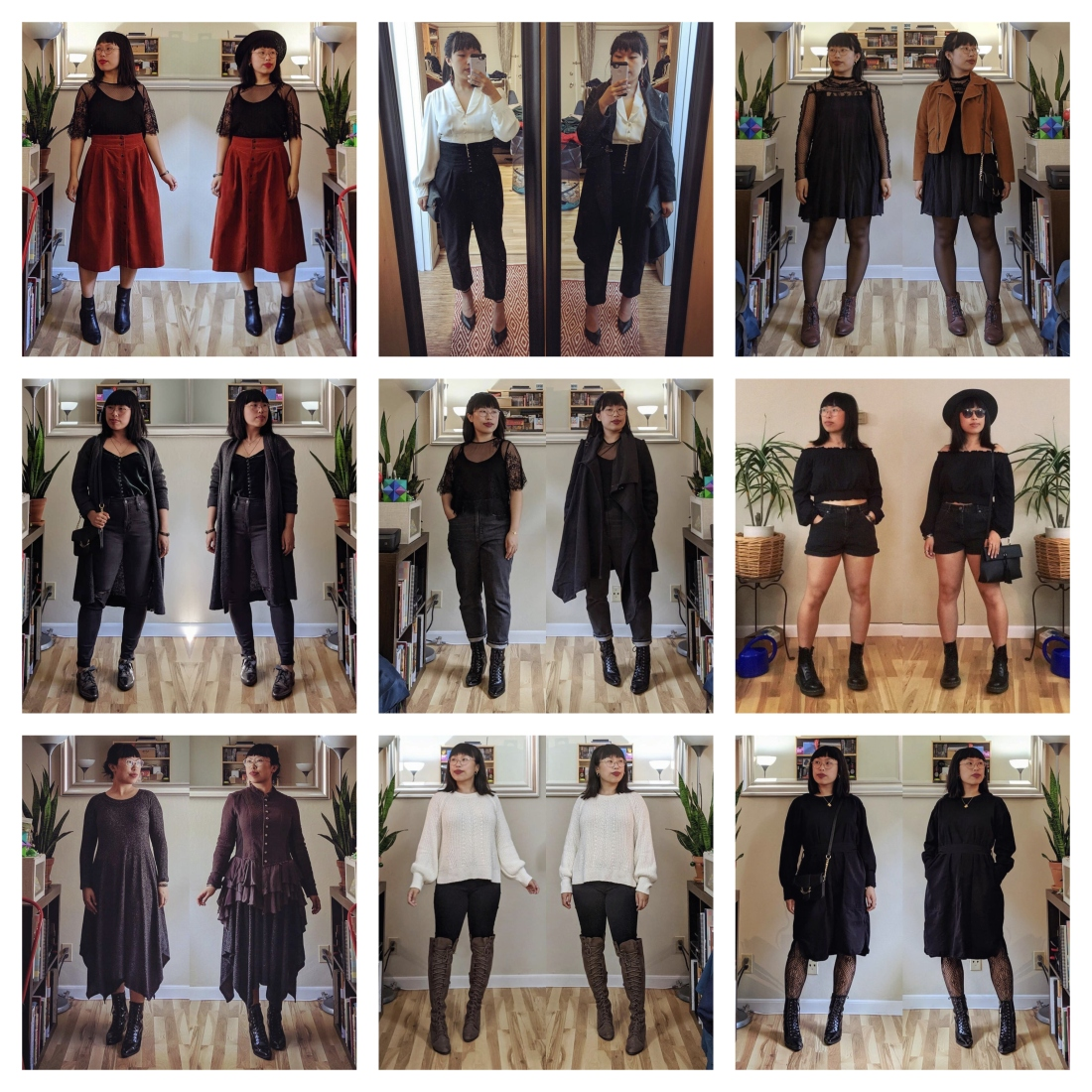 romantiic goth outfits