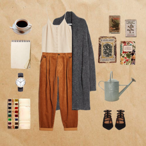 polyvore style collage